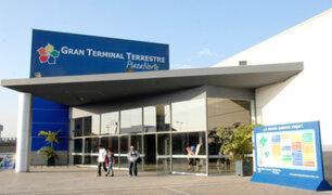 Gran Terminal Terrestre Plaza Norte garantiza seguridad a viajeros