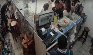 SJL: delincuentes asaltan once veces la misma farmacia