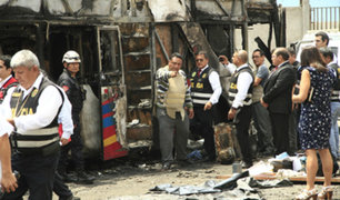 Tragedia en Fiori: PNP investiga un supuesto sabotaje en bus siniestrado