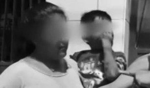 VES: madre dejó ensangrentado a su pequeño tras brutal golpiza