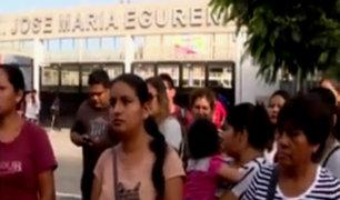 Barranco: denuncian que alumnos no tienen clases por falta de profesores