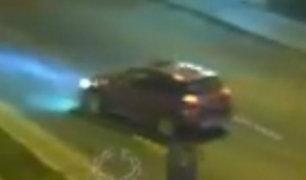 Tacna: espectacular persecución de patrulla a camioneta