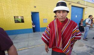 """Gregorio Rojas: """"No estamos extorsionando a nadie"""""""