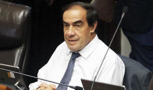 Yonhy Lescano retornó al Congreso tras ser suspendido por 120 días