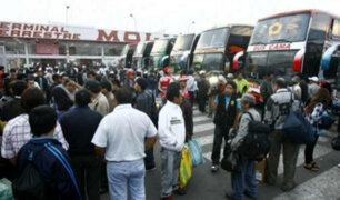 San Luis: clausuran terminal de Yerbateros por tres días