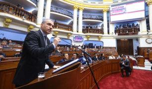 Premier Del Solar citó a voceros de bancadas para tratar reforma política