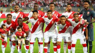 Selección Peruana bajó un puesto en nuevo ranking de la FIFA