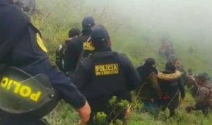Cajamarca: policía muere baleado durante enfrentamiento entre comuneros