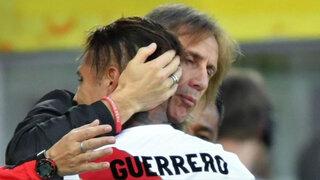 Gareca viajó a Brasil para ver retorno de Guerrero a las canchas