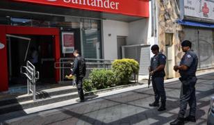 Policía brasileña abatió a 11 delincuentes que intentaron asaltar un banco