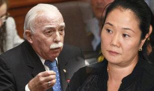 """Tubino sobre audio entre Ríos y Figueroa: """"El objetivo es que Keiko no salga libre"""""""