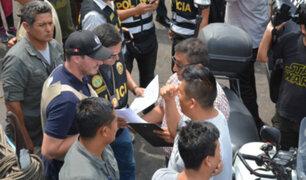 Municipalidad de La Victoria ejecutó operativo de recuperación del espacio público