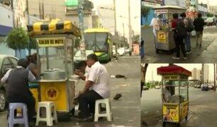Polvos Azules: vendedores ambulantes continúan en alrededores pese a desalojo