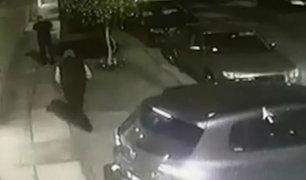 Surco: hombre fue asaltado en la puerta de su casa