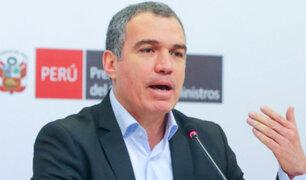 Del Solar considera excesivas críticas al MTC por incendio de bus en Fiori