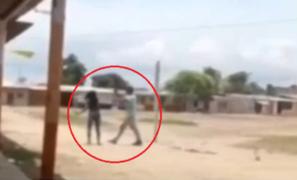 Tumbes: mujer agarra a palazos a su expareja cuando llegó a visitar a sus hijos
