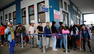 Tumbes: se espera llegada de miles de venezolanos