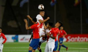 Sudamericano Sub 17: Perú cayó ante Chile por hexagonal final