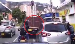 Motos son usadas para cometer atracos en calles de Colombia