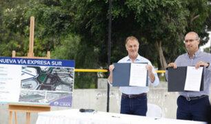 Vía Expresa Sur: alcalde Muñoz dejó sin efecto contrato con Graña y Montero