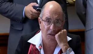 Edwin Donayre se quiebra ante comisión por caso 'gasolinazo'