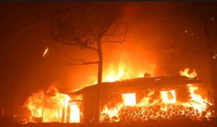 Corea del Sur: cuatro mil personas evacuadas por incendios forestales