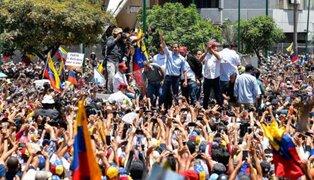 Venezuela: Juan Guaidó lidera inicio de la 'Operación Libertad'