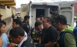 Las Bambas: Hermanos Chávez Sotelo fueron internados en penal de Cusco