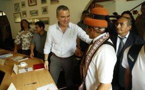 Las Bambas: culminó reunión entre el Ejecutivo, Gregorio Rojas y empresa MMG