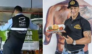 San Isidro: cierran restaurante de Jonathan Maicelo por insalubridad