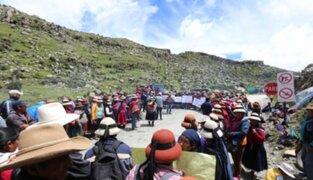 Gobierno logró acuerdo con comuneros de Fuerabamba y vía será desbloqueada