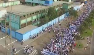 Ventanilla: más de 10 mil personas marchan contra la inseguridad