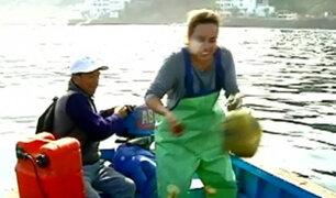 Pescadora por un día: una dura y sacrificada aventura marina