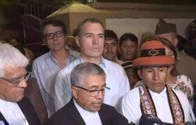 Defensoría supervisará cumplimiento de acuerdos sobre Las Bambas