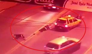 Santa Anita: conductor arrolla a tres personas cuando intentaban cruzar la pista