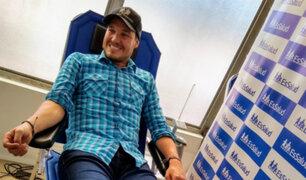 George Forsyth: alcalde se suma a reto que incentiva donación de sangre