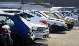 SAT internó más de 66 mil vehículos de enero a setiembre