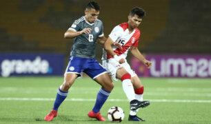 Se complica: Perú perdió frente a Paraguay por 2 - 0 por el Sudamericano Sub 17