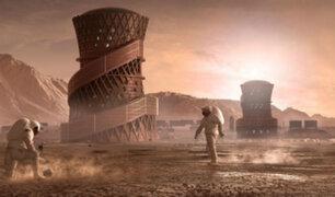EEUU: NASA presenta modelos de casas para vivir en Marte