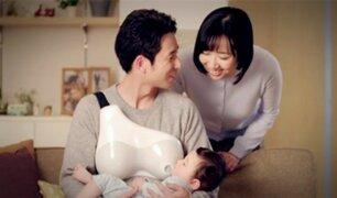 Crean pecho artificial para que hombres ''amamanten'' a bebés