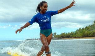 María Fernanda Reyes: peruana se alzó con el primer lugar en torneo de longboard
