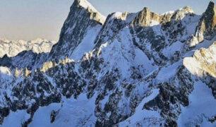 Alertan que glaciares en los Alpes podrían perder su volumen en las próximas décadas