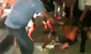 Iquitos: ladrón recibió tremenda golpiza por robarle a una joven