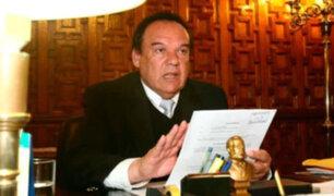 Luis Alva Castro: dictan 18 meses de impedimento de salida del país