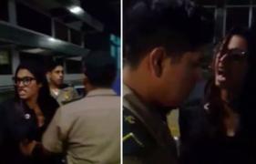 Abogada que agredió a policías ahora es denunciada por golpear a mujer y su bebé