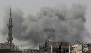 Siria: nueve muertos deja explosión de mina y dos coches bombas
