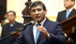 Caso Alan García: ministro Morán denunció presunto maltrato en Comisión de Defensa