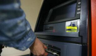 Detienen a delincuentes que robaban a través de cajeros automáticos y sin utilizar tarjetas