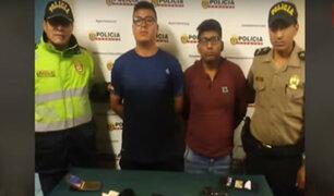 Surco: detienen tres bandas de raqueteros que operaban en Chacarilla