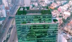Miraflores: vecinos saludaron ordenanza que promueve edificios con techos verdes